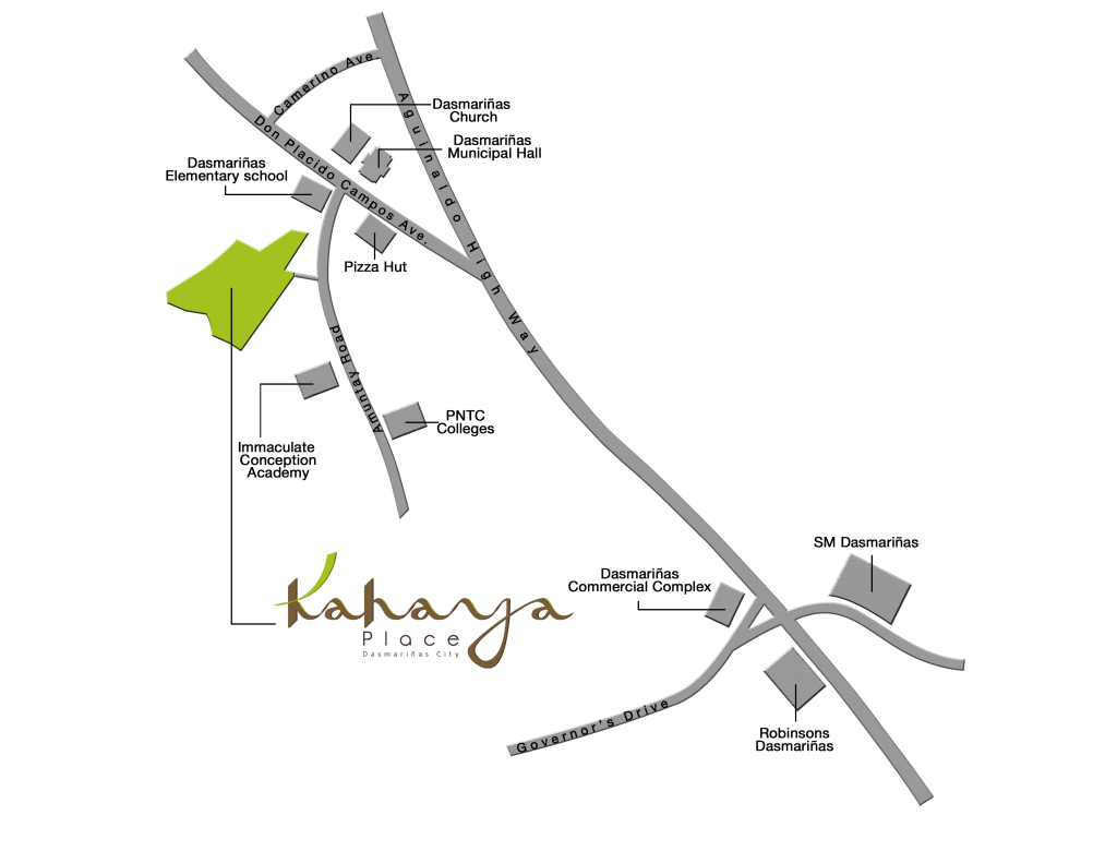 Kahaya-Vicinity-Map